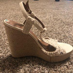 LuckyBrand wedge heels 👠